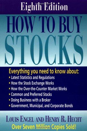 9780316353809: How to Buy Stocks