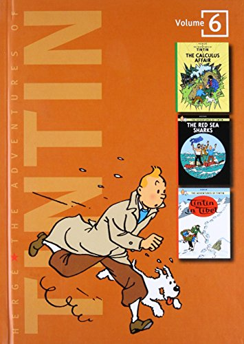 9780316357241: The Adventures of Tintin, Volume 6: The Calculus Affair, The Red Sea Sharks, and Tintin in Tibet (3 Original Classics in 1)