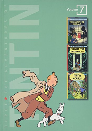 9780316357272: The Adventures of Tintin, vol. 7: The Castafiore Emerald / Flight 714 / Tintin and the Picaros (3 Volumes in 1)