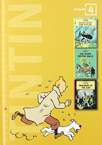 9780316358149: The Adventures of Tintin, Vol. 4: Red Rackham's Treasure / The Seven Crystal Balls / Prisoners of the Sun (3 Volumes in 1)