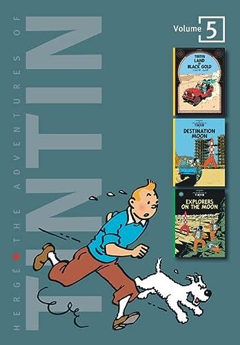 9780316358163: The Adventures of Tintin: Volume 5 (Tintin Three-in-one)