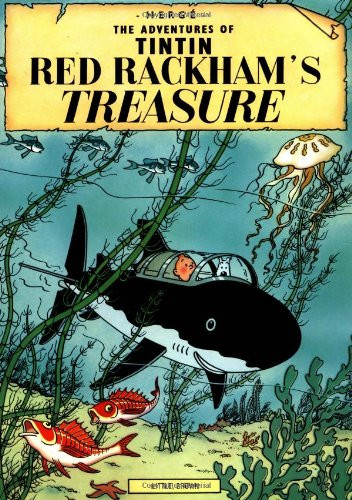 RED RACKHAMS'S TREASURE (The Aventures of Tintin Series)