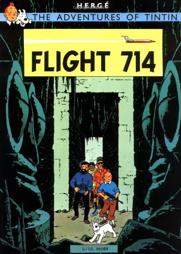 Flight 714 22 Adventures of Tintin
