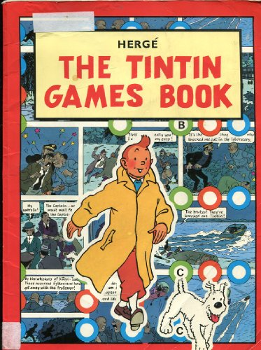 The Tintin Games Book (Adventures of Tintin): Herge