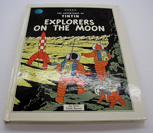 9780316358606: Explorers on the Moon/Pop Up Book (The Adventures of Tintin)