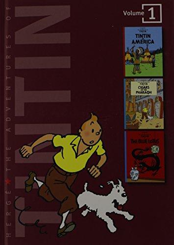 9780316359405: The Adventures of Tintin: Volume 1 (Tintin Three-in-one)