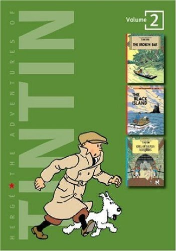 The Adventures of Tintin, Vol. 2: The Broken Ear / The Black Island / King Ottokar's Sceptre (3 V...