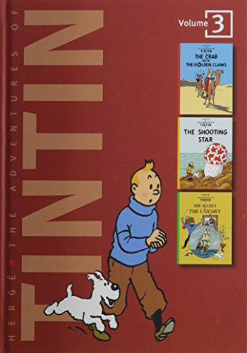 9780316359443: The Adventures of Tintin, Vol. 3: The Crab with the Golden Claws / The Shooting Star / The Secret of the Unicorn (3 Volumes in 1)