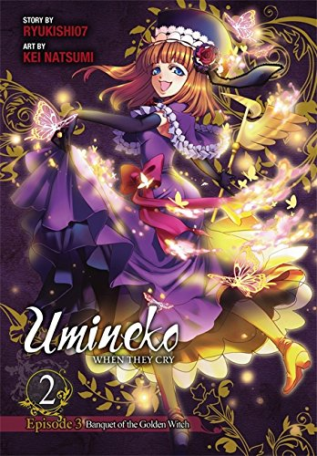 9780316370417: Umineko WHEN THEY CRY Episode 3: Banquet of the Golden Witch, Vol. 2 - manga