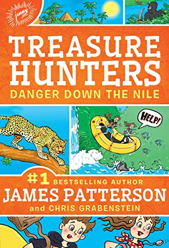 9780316370868: Treasure Hunters: Danger Down the Nile