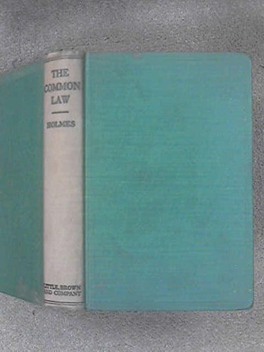 9780316371315: The Common Law
