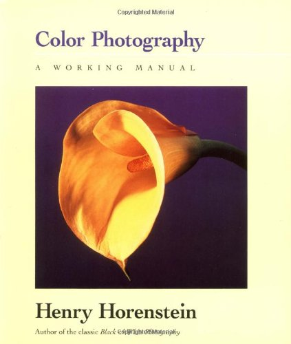 9780316373166: Color Photography: A Working Manual