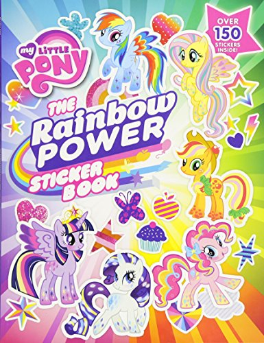 9780316376310: My Little Pony: The Rainbow Power Sticker Book (My Little Pony (Little, Brown & Company))