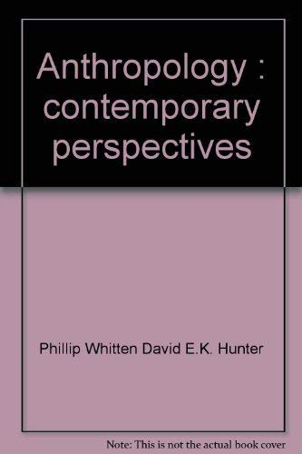 9780316382694: Anthropology: Contemporary perspectives