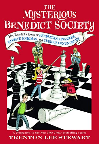 9780316394758: The Mysterious Benedict Society: Mr. Benedict's Book of Perplexing Puzzles, Elusive Enigmas, and Curious Conundrums