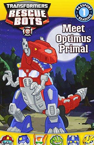 9780316405584: Transformers: Rescue Bots: Meet Optimus Primal (Passport to Reading Level 1)