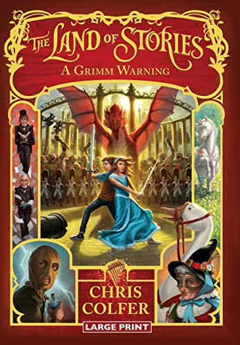 9780316409643: A Grimm Warning (The Land of Stories)