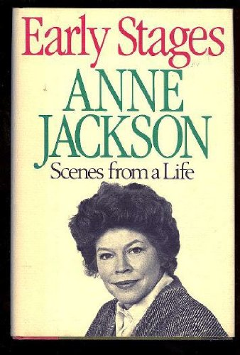 Early Stages.: JACKSON, Anne.