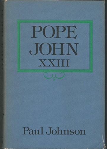 9780316467551: Pope John XXIII (The Library of world biography)