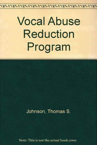 9780316469517: Vocal Abuse Reduction Program