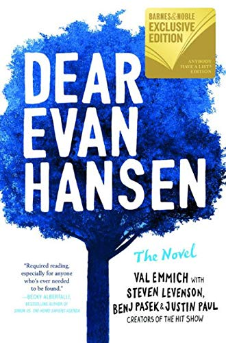 9780316487146: Dear Evan Hansen: The Novel (B&N Exclusive Edition)