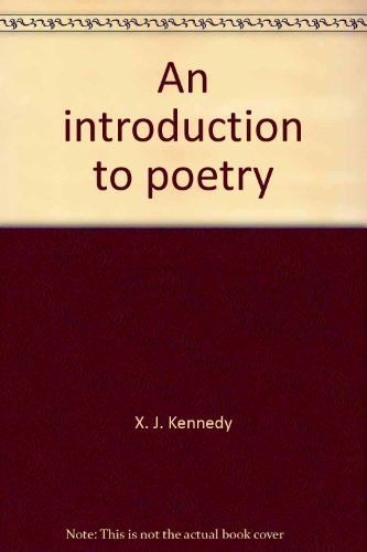 9780316489089: An introduction to poetry