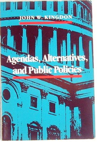 9780316493918: Agendas, Alternatives and Public Policies