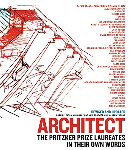 9780316505055: Architect: The Pritzker Prize Laureates in Their Own Words
