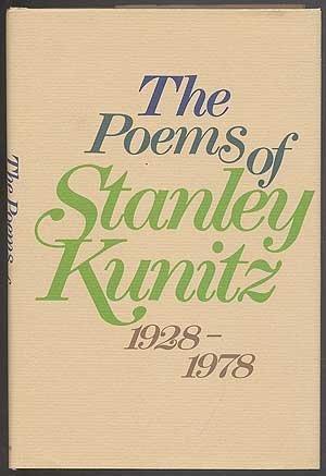 THE POEMS OF.; 1928-1978: KUNITZ, Stanley