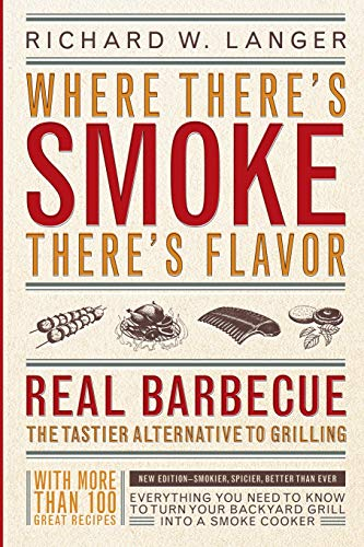 Where There's Smoke There's Flavor: Real Barbecue: Richard W., Langer,: