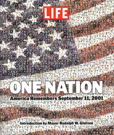 One Nation: America Remembers September 11, 2001 (Easton Press Leather Bound)