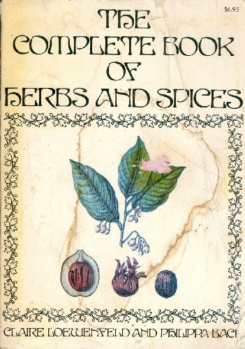 9780316530705: The Complete Book of Herbs and Spices