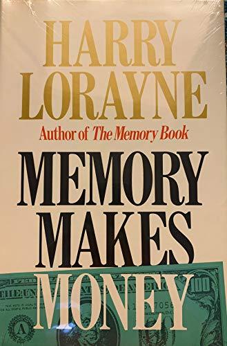 9780316532679: Memory Makes Money