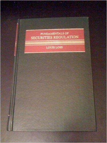 9780316533287: Fundamentals of Securities Regulation