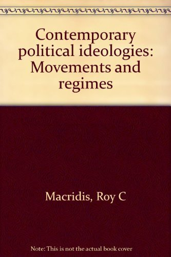 9780316542821: Title: Contemporary political ideologies Movements and re