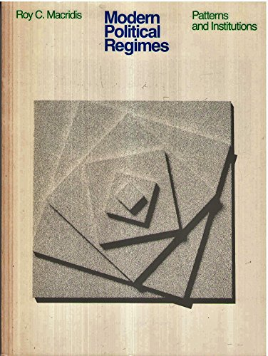 9780316542852: Modern political regimes : patterns and institutions