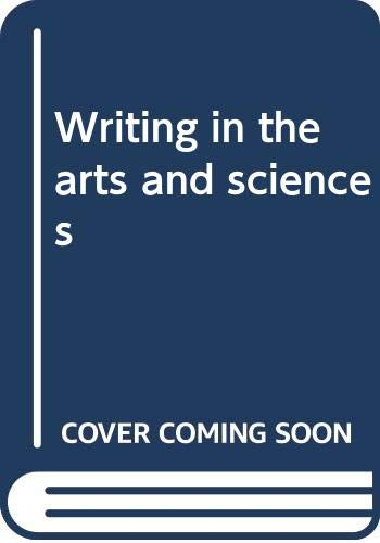 Writing in the arts and sciences: Maimon, Elaine P.;
