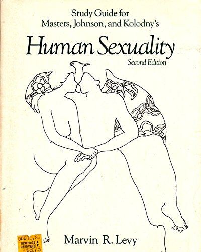 9780316549974: Study guide for Masters, Johnson, and Kolodny's Human sexuality, second edition