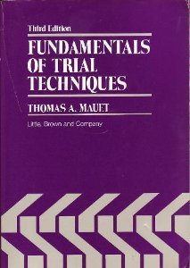9780316551052: Fundamentals of Trial Techniques