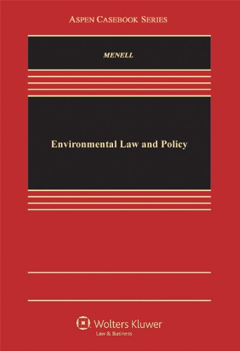 9780316551571: Environmental Law and Policy (Law School Casebook Series)