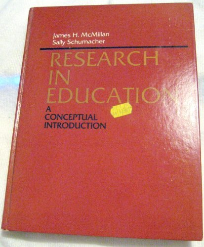 9780316562430: Research in Education: A Conceptual Introduction