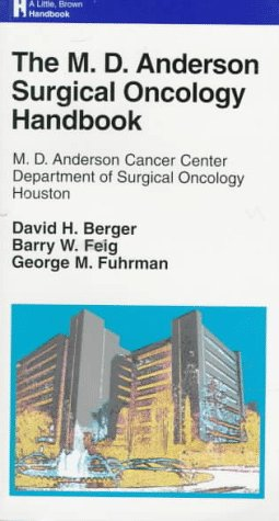 9780316564311: The M.D. Anderson Surgical Oncology Handbook