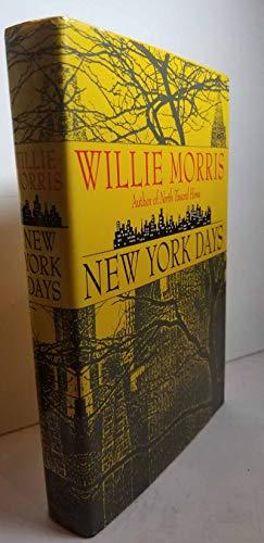 New York Days: Morris, Willie