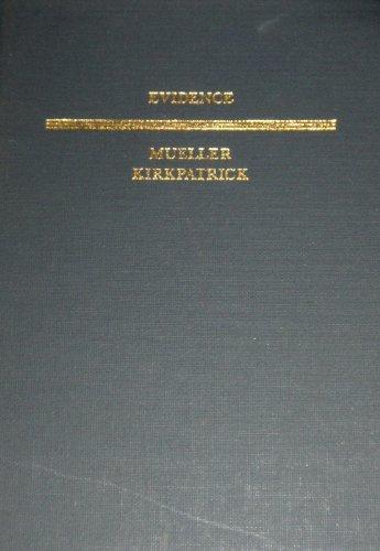 9780316589987: Evidence (Law School Casebook Series)