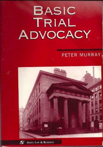 9780316591324: Basic Trial Advocacy