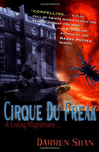 9780316603409: Cirque Du Freak #1: A Living Nightmare: Book 1 in the Saga of Darren Shan (Cirque Du Freak: Saga of Darren Shan)