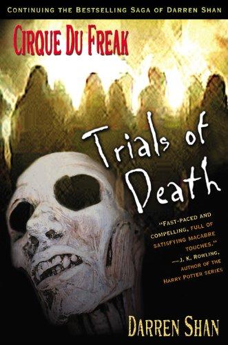 9780316603676: Cirque Du Freak #5: Trials of Death: Book 5 in the Saga of Darren Shan (Cirque Du Freak: Saga of Darren Shan)