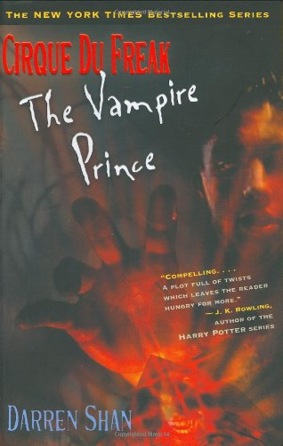 [signed] Cirque Du Freak The Vampire Prince Book 6.