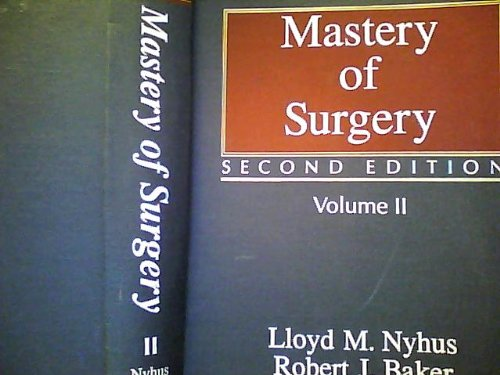 Mastery of surgery (The Mastery of surgery)