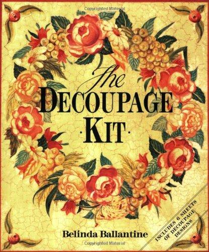 9780316640381: The Decoupage Kit